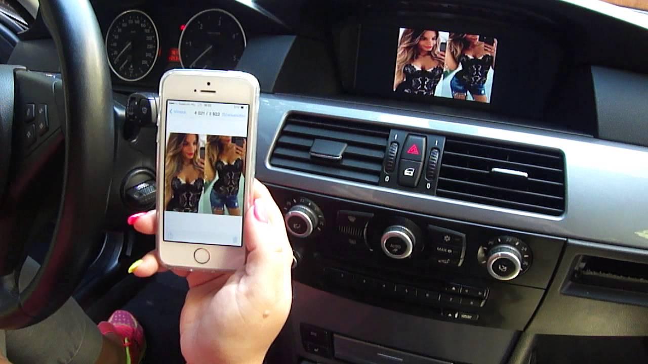 Bmw E60 E90 F10 Iphone Wifi Airplay Miracast Telefon