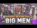USING A FULL SQUAD OF SPEED BOOSTING BIG MEN! THESE HUGE 2K DEMIGODS BREAK ANKLES! NBA 2K18 MYTEAM