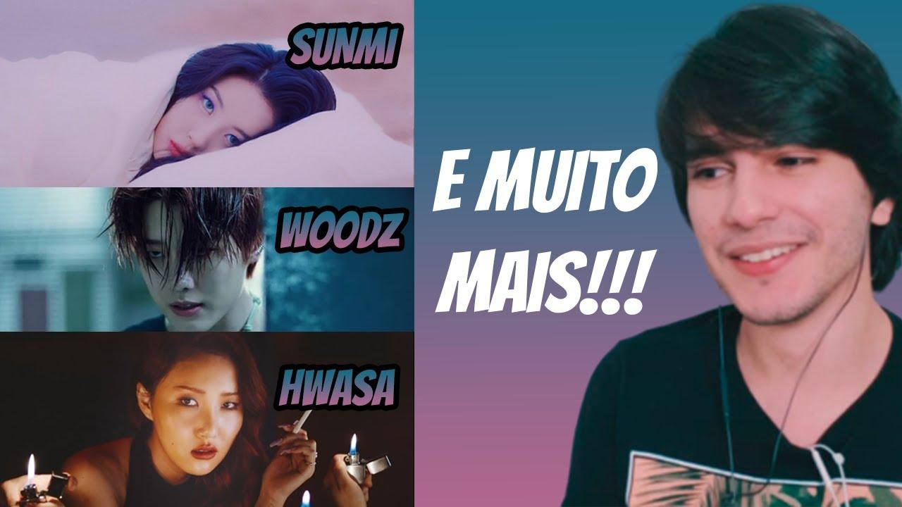 REAGINDO A 6 MVs!!! (Sunmi, Niziu, Hwasa, Woodz, Weekly, 3YE)