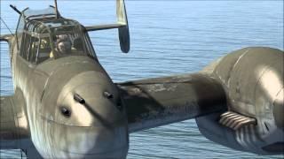 il 2 cliffs of dover spitfire iia bf 110 c 7