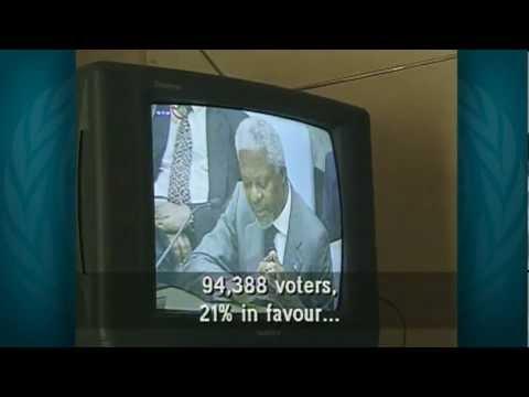HORA DA VERDADE - 30 DE AGOSTO DE 1999 - TIMOR-LESTE LIVRE E INDEPENDENTE - vídeo