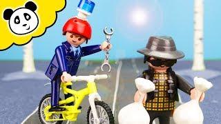 Playmobil Polizei - Das Polizeiauto ist weg! - Playmobil Film