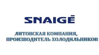 Ремонт холодильников Snaigė(Компания