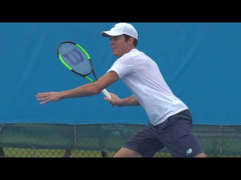 Milos Raonic prepares to defend his title | Brisbane International 2017