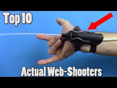 10 Real Life Web-Shooters You Won