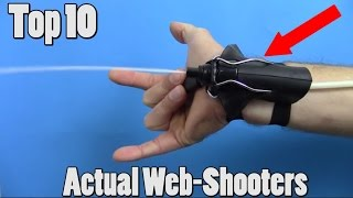 10 Real Life Web-Shooters You Won't Believe