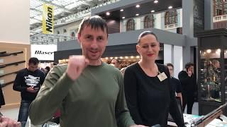 ВЫСТАВКА ОРУЖИЕ и ОХОТА ч.2 ARMS & HUNTING 2018 Гостиный Двор Москва ИНТЕРВЬЮ