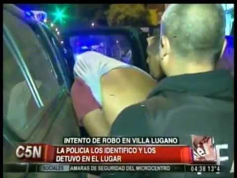 C5N - POLICIALES: INTENTO DE ROBO EN VILLA LUGANO