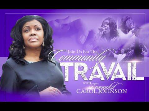 Prophetic Intercessory Prayer - Evangelist Carol Johnson Ministries