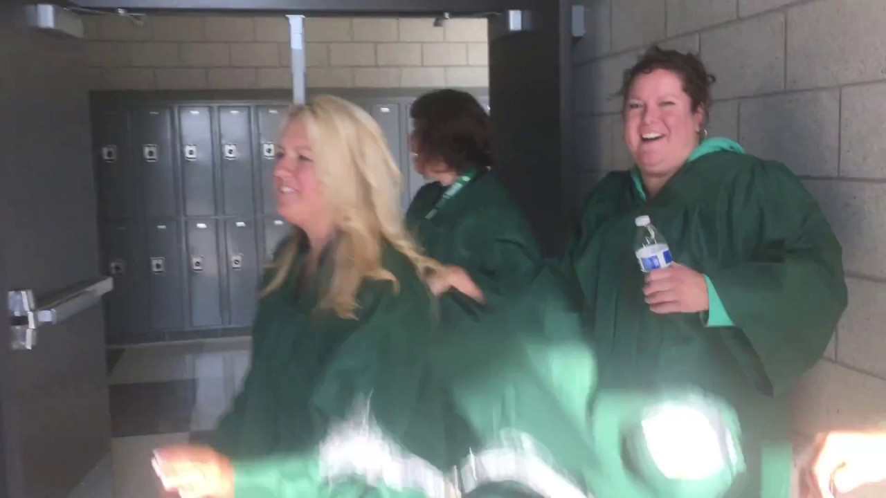 Video: Provo High School welcomes students back with