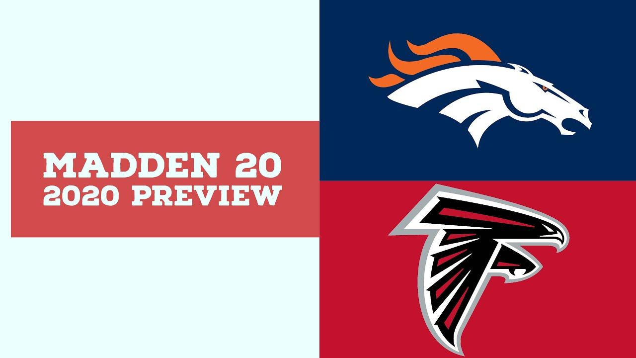 2020 Week 9 Preview - Denver Broncos vs Atlanta Falcons - Simulation Nation