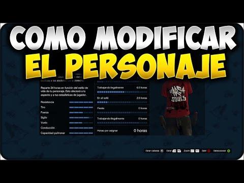 GTA 5 ONLINE 1.24/1.26 - COMO MODIFICAR EL PERSONAJE, CAMBIAR SEXO ETC MUY FÁCIL - GTA V ONLINE 1.24