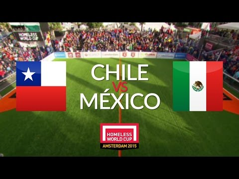 Chile vs México | Final (Femenil) - Homeless World Cup 2015