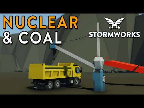COAL & NUCLEAR Major Update!!!! - First Look - Stormworks