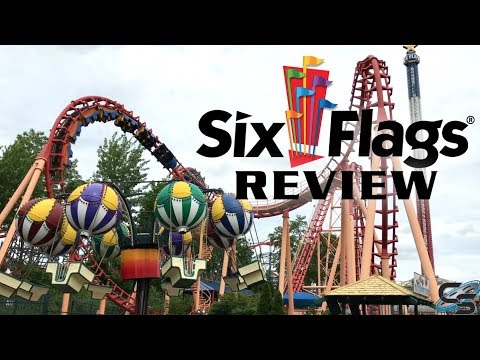 Six Flags New England Review Agawam, Massachusetts