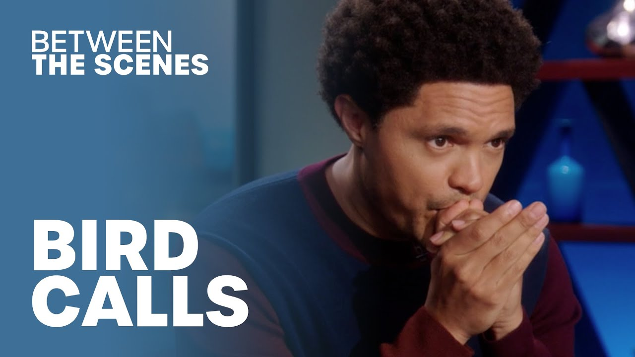 Why Text When You Can Bird Call? - Between The Scenes | The Daily Show