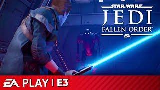 Star Wars Jedi: Fallen Order Full Gameplay Reveal Presentation   EA Play E3 2019