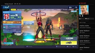 Fortnite season 8 // Palier 100,skin secret ruin,week of challenge//