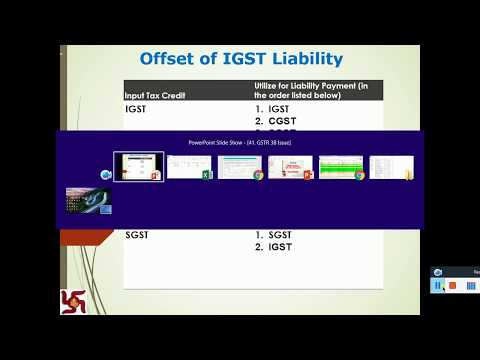 GSTR 3B - Most Common Issue in OFFSET of Cross ITC Utilization -Example 1