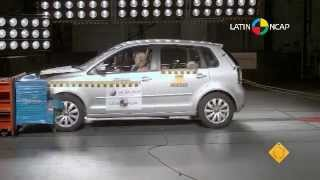 2013 Volkswagen Polo (9N) NCAP Frontal Offset (LatinNCAP - Four Stars)