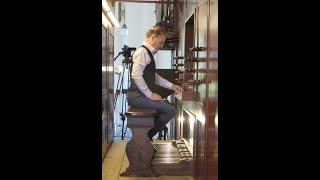 Willem van Twillert plays his DUO  Lohman-organ Farmsum  [Live recording]