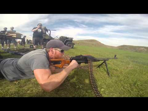 Marc Krebs & the Russian PKM 7.62x54 Machinegun