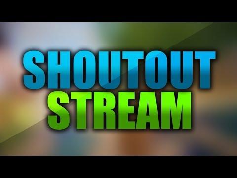 SHOUTOUT LIVE STREAM 24/7 | AUTO SHOUTOUT WALL Mp3