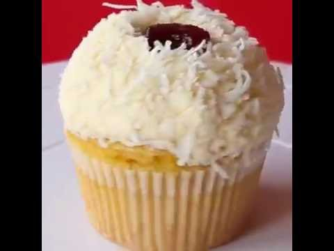 Coconut Cranberry CupCake DIY Recycle and Music