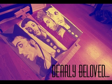 DEARLY BELOVED:  Prince Tribute Timelapse Drawing