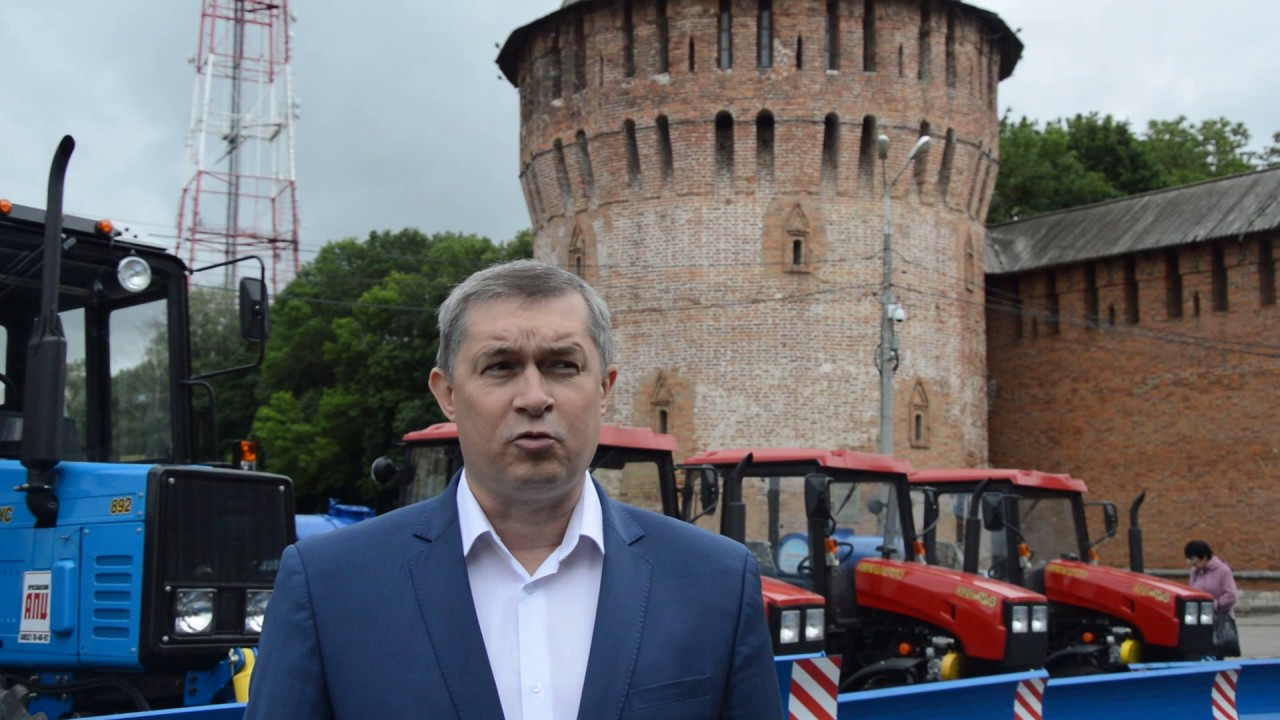 Глава города Смоленска Владимир Соваренко о новой технике - YouTube