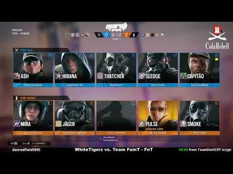 Rainbow Six I Deadman Masters RSS   White Tigerz vs. Team FainT