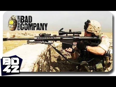 Bad Company 2 ► Barrett M95 Sniper Rampage (Full Round)