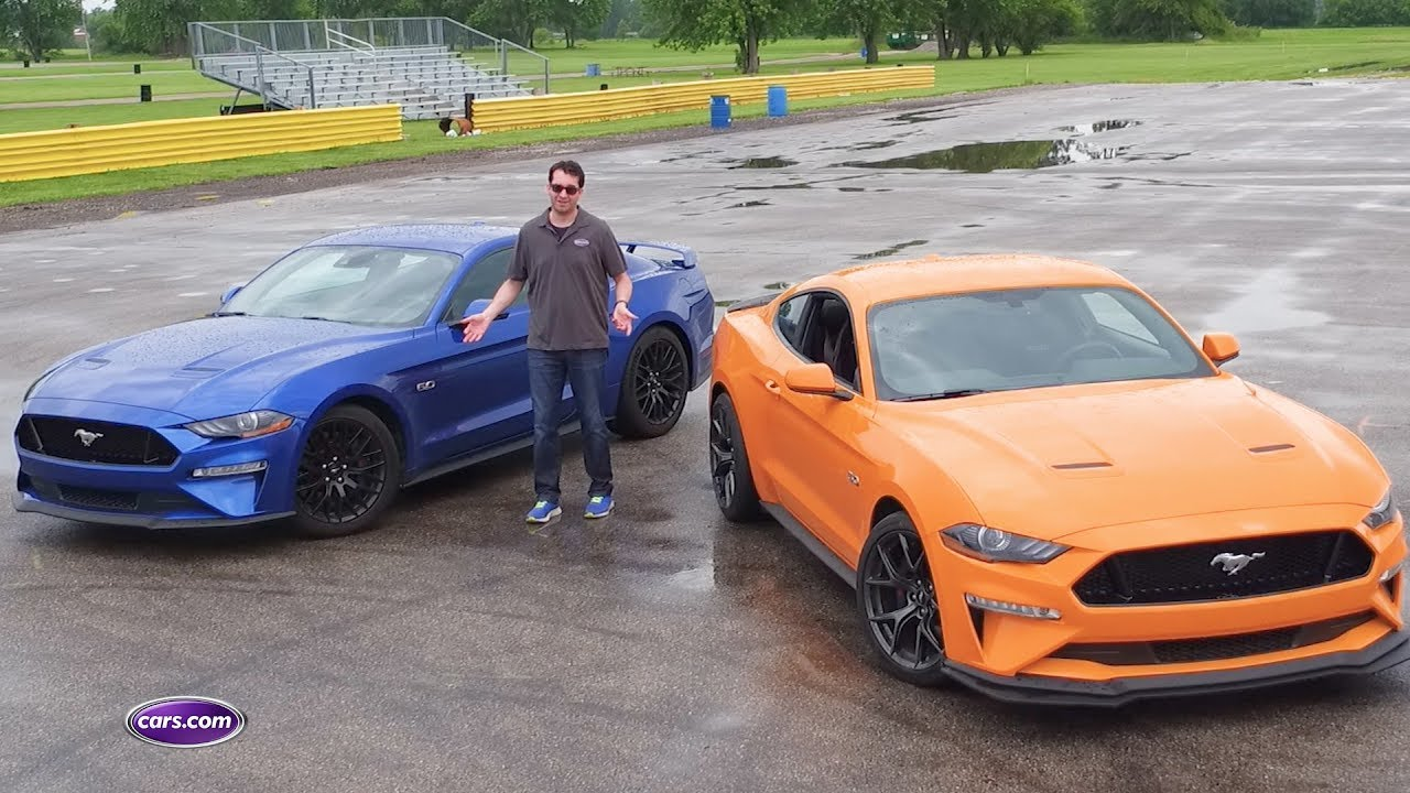 mustang vs mustang ford s performance packages tested youtube