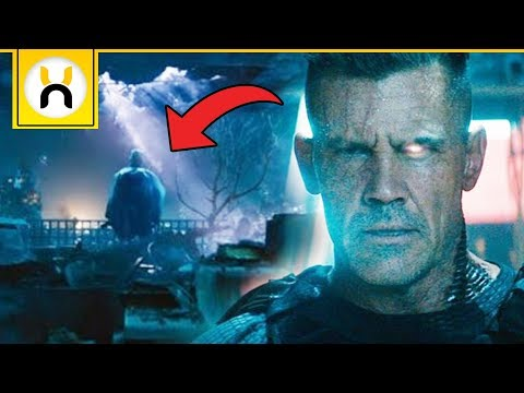 How Cable Travels Back in Time in Deadpool 2