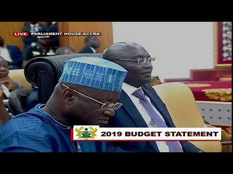Ghana's Finance Minister Ken Ofori-Atta delivers 2019 Budget statement