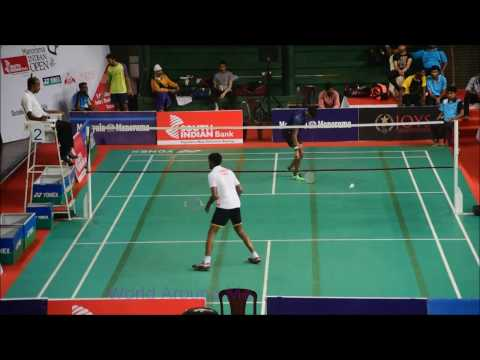Badminton Indian open Tournament At V.K.N. Menon Indoor Stadium  Thrissur, Kerala