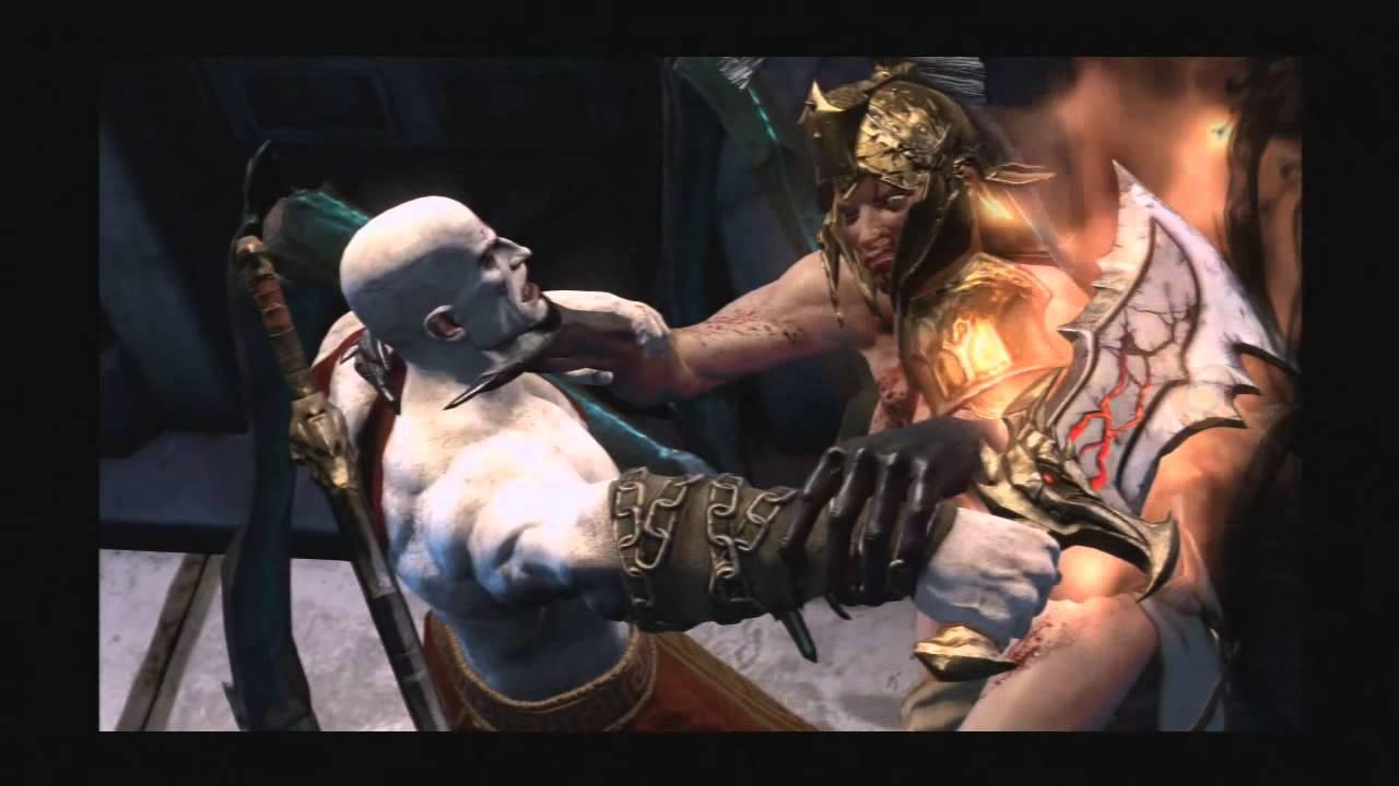 kratos vs megaera y tisiphone youtube