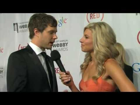 Damian Kulash on the Red Carpet at the 15th Annual Webby Awards