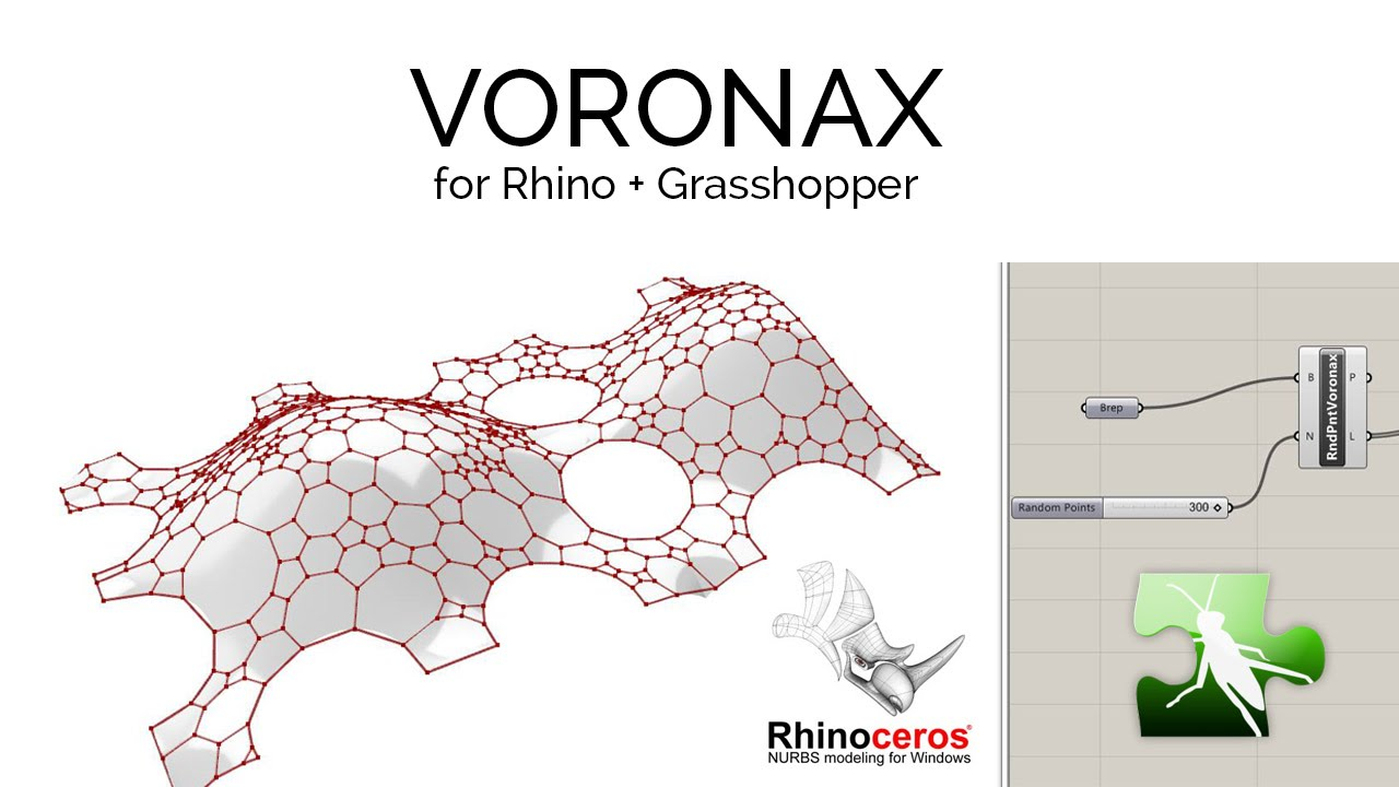 Programming architecture voronax grasshopper component for R language architecture