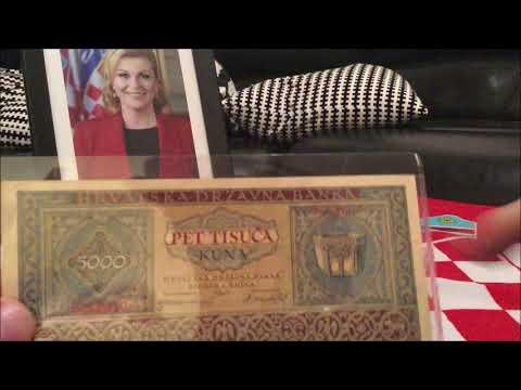Croatian Banknote Review - NDH 1943 5000 kuna