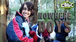 CBBC: Nowhere Boys - A day on set