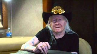 Johnny Winter last interview ever, 70th Birthday Interview with Johnny Winter 3/18/14