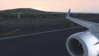 fsx hawaii ngx kona takeoff