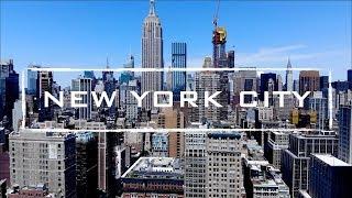 New York City, NY | 4K Drone Video