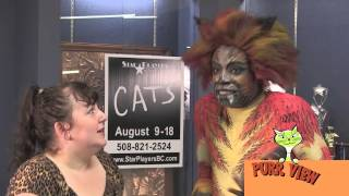 Purr View Interviewed CATS the Musical @Star Players of Bristol County August 2013