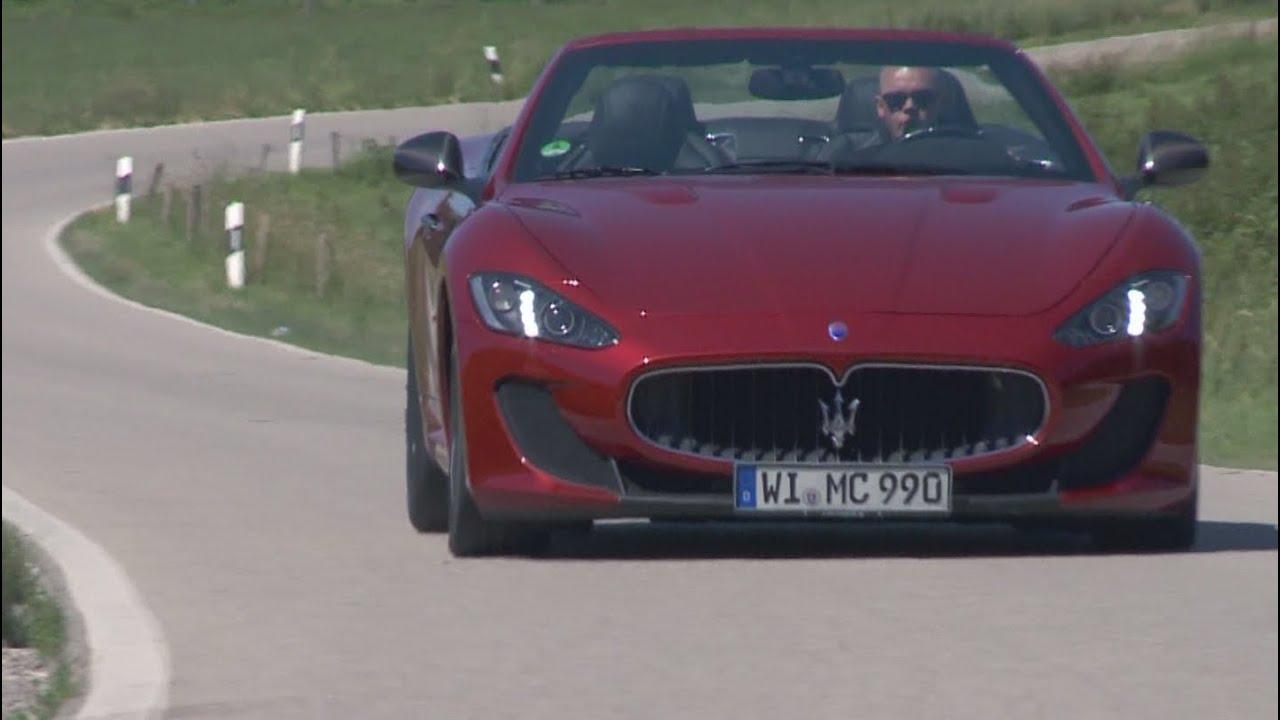 Maserati grancabrio mc test it youtube maserati grancabrio mc test it sciox Image collections