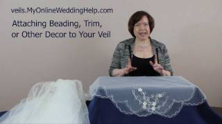 Veil Beading, Trim, and Embellishment Examples Thumbnail