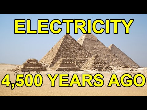 Ancient Egyptian Electricity Inside The Great Pyramid Of Giza