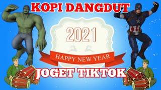 Download KOPI DANGDUT VERSI TIKTOK ~ HULK DAN CAPTAIN AMERICA JOGET TIKTOK ~ HAPPY NEW YEAR 2021