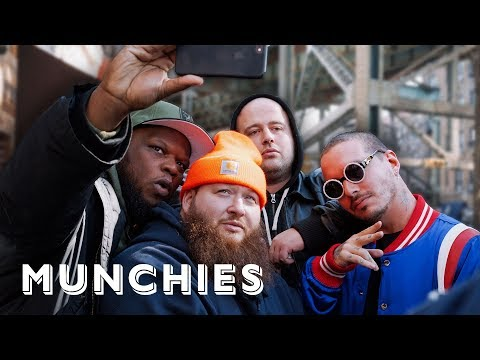 J Balvin & Action Bronson Visit New York's Best Colombian Bakery